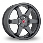 Image for Wolfrace Asia-Tec_JDM Gun_Metal Alloy Wheels