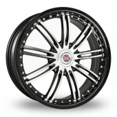 Image for Wolfrace Mini_Works_Silverstone Black_Polished Alloy Wheels