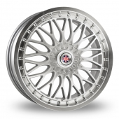 Image for Wolfrace Mini_Works_Rockingham Silver_Polished Alloy Wheels