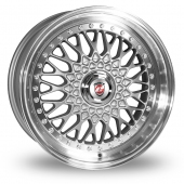 Image for Calibre Vintage_5x120_Low_Wider_Rear Silver Alloy Wheels