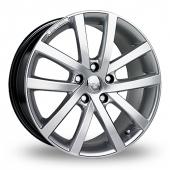 Image for Riva AVS Hyper_Silver Alloy Wheels
