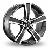 Image for OZ_Racing Sahara_5 Graphite_Polished Alloy Wheels