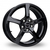 Image for Fox_Racing FX6 Black Alloy Wheels