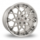 Image for Calibre CC-X_5x120_Wider_Rear Silver_Polished Alloy Wheels