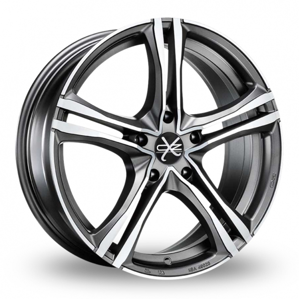 Zoom OZ_Racing X5B_5x120_Wider_Rear Graphite_Polished Alloys