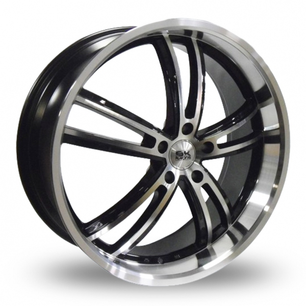 Zoom BK_Racing 211 Black_Polished Alloys