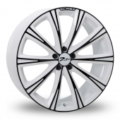 Image for Zito CRS White_Black Alloy Wheels