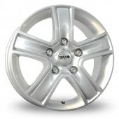 Image for Tekno KV5 Silver Alloy Wheels
