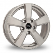 Image for Wolfrace Formula Silver Alloy Wheels