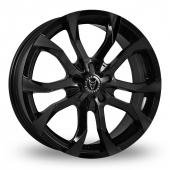Image for Wolfrace Assassin Black Alloy Wheels