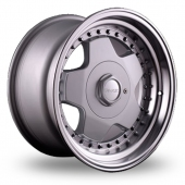 Image for Dare DR-B Silver Alloy Wheels