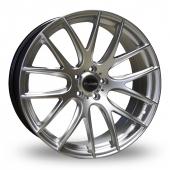 Image for Dare River_NK_1 Hyper_Silver Alloy Wheels