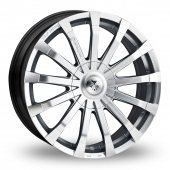 Image for Wolfrace Wolf_Design_Renaissance Hyper_Silver Alloy Wheels