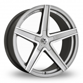 Image for Wolfrace Wolf_Design_Entourage Anthracite_Polished Alloy Wheels
