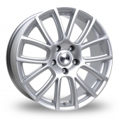Image for Tekno RX7 Silver Alloy Wheels