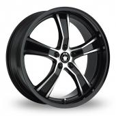Image for Konig Airstrike Black_Polished Alloy Wheels