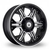 Image for Konig Locknload Black_Polished Alloy Wheels
