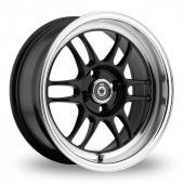 Image for Konig Wideopen Black Alloy Wheels