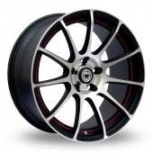 Image for Konig Z-IN Matt_Black Alloy Wheels