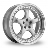 Image for Privat Kup_Wider_Rear Silver Alloy Wheels