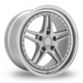 Image for Privat Rivale_5x120_Wider_Rear Silver Alloy Wheels
