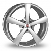 Image for Calibre Panik Silver Alloy Wheels