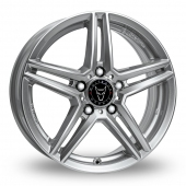 Image for Wolfrace M10 Silver Alloy Wheels