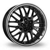 Image for Wolfrace Norano Black Alloy Wheels