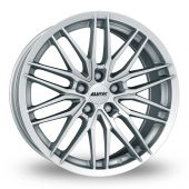 Image for Alutec Burnside_5_Stud Silver Alloy Wheels