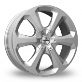 Image for Momo Hexa Hyper_Silver Alloy Wheels