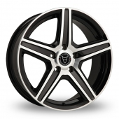Image for Wolfrace Scorpio Black_Polished Alloy Wheels