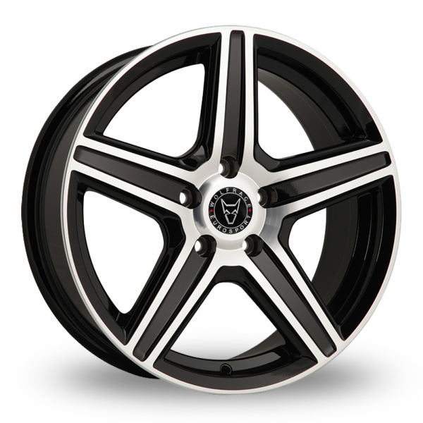 Zoom Wolfrace Scorpio Black_Polished Alloys