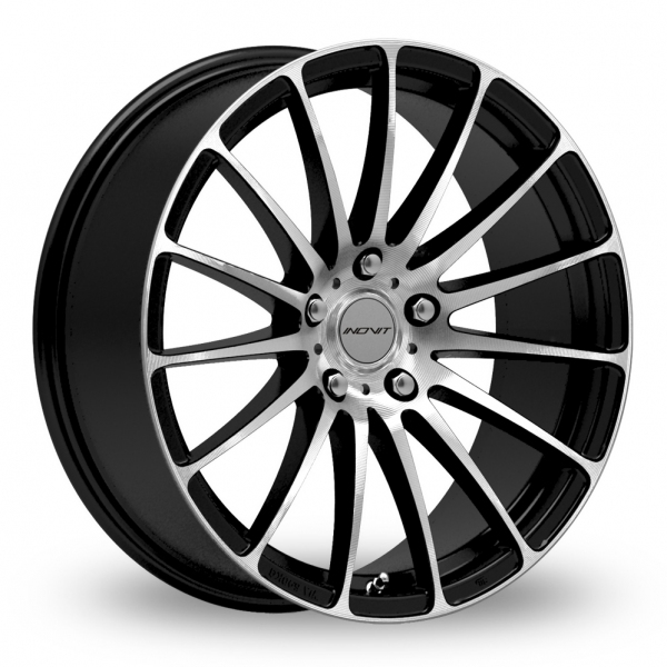 Picture of 18 Inch Inovit Force 5 Black/Polished Alloy Wheels