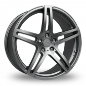 Image for Fox_Racing MS005 Grey Alloy Wheels