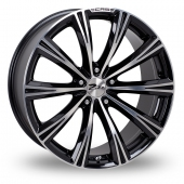 Image for Zito CRS Black_Polished Alloy Wheels