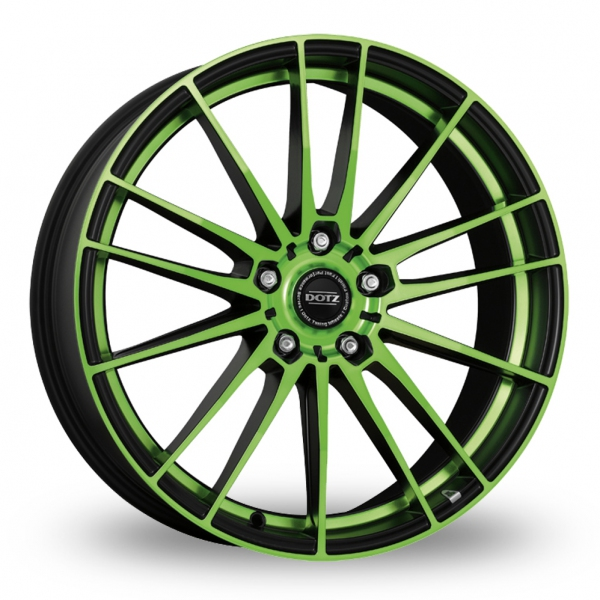 Zoom Dotz Fast_Fifteen Black_Green Alloys