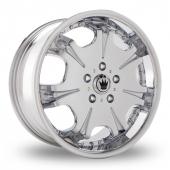Image for Konig Blix_EU5 Chrome Alloy Wheels