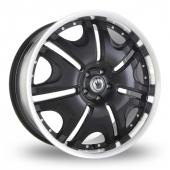 Image for Konig Blix_1 Black Alloy Wheels