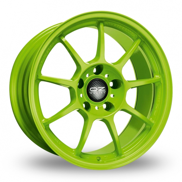Zoom OZ_Racing Alleggerita_HLT_5x112_Wider_Rear Green Alloys