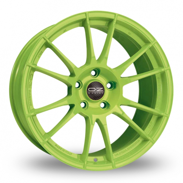 Zoom OZ_Racing Ultraleggera_HLT_Wider_Rear Green Alloys