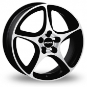 Image for Ronal R53 Black_Polished Alloy Wheels