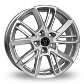 Image for Wolfrace Xplosive Silver Alloy Wheels