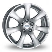 Alutec V Silver Alloy Wheels