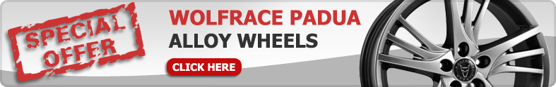 Wolfrace Padua Alloy Wheels Offer