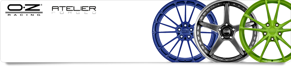 OZ Racing Atelier Forged Alloy Wheels