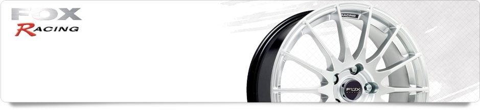 Fox Racing Alloy Wheels