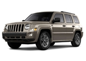 Jeep Patriot Alloy Wheels