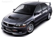 Mitsubishi Evo-9 Alloy Wheels