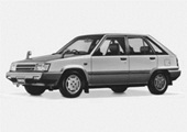 Toyota Tercel Alloy Wheels