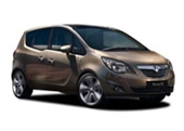 Vauxhall Meriva Alloy Wheels